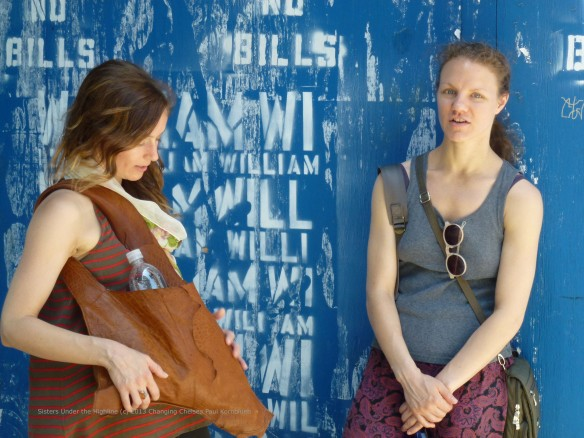 Sisters Under the Highline (c) 2013 Changing Chelsea Paul Kornblueh